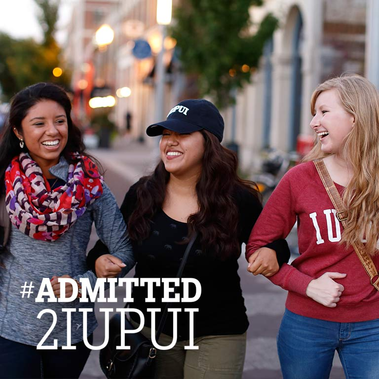 #Admitted2IUPUI